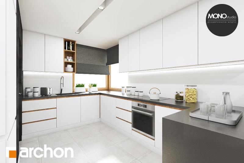 Aranżacje kuchni do projektów domów - ARCHON+ - strona 3
