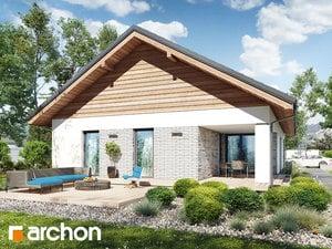 projekt Dom w modrzewnicy 3 (G2) widok 2