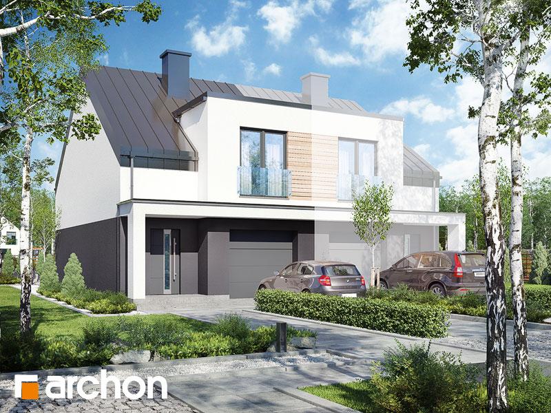 gotowy projekt Dom pod miłorzębem 7 (GBNA) widok 1