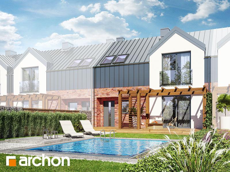 gotowy projekt Dom w gunnerach (SA) widok 1