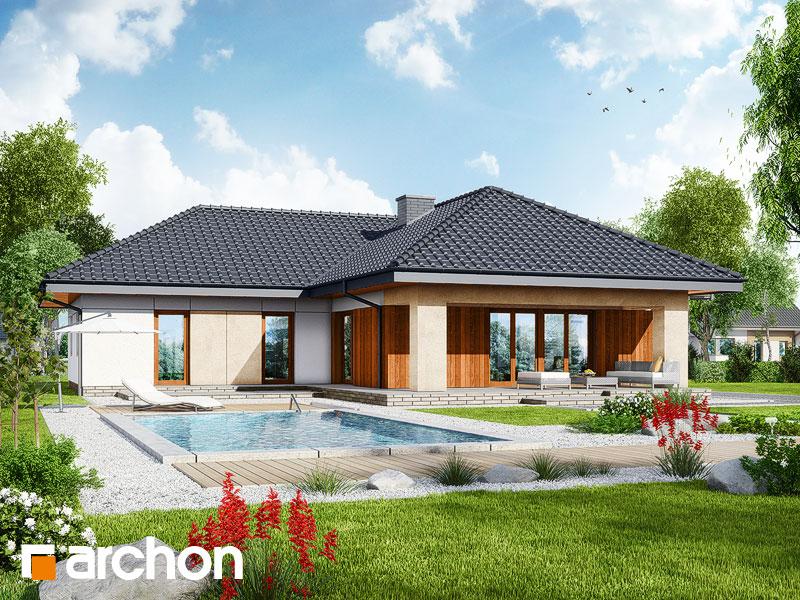 gotowy projekt Dom w pelargoniach 3 widok 1