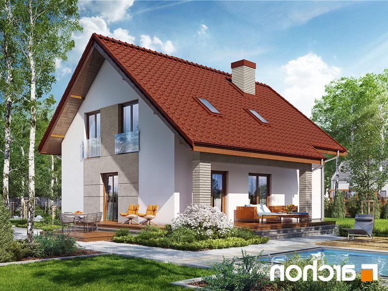 Lustrzane odbicie 1 projekt dom w pieknotkach 2  289lo