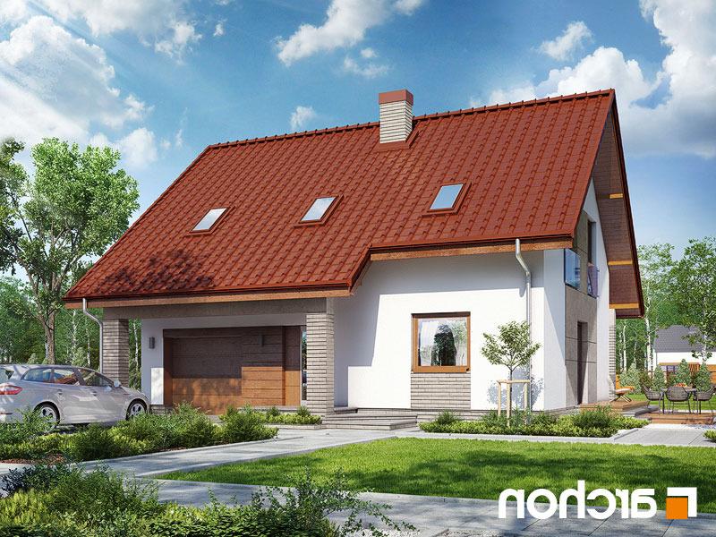 Lustrzane odbicie 2 projekt dom w pieknotkach 2  290lo