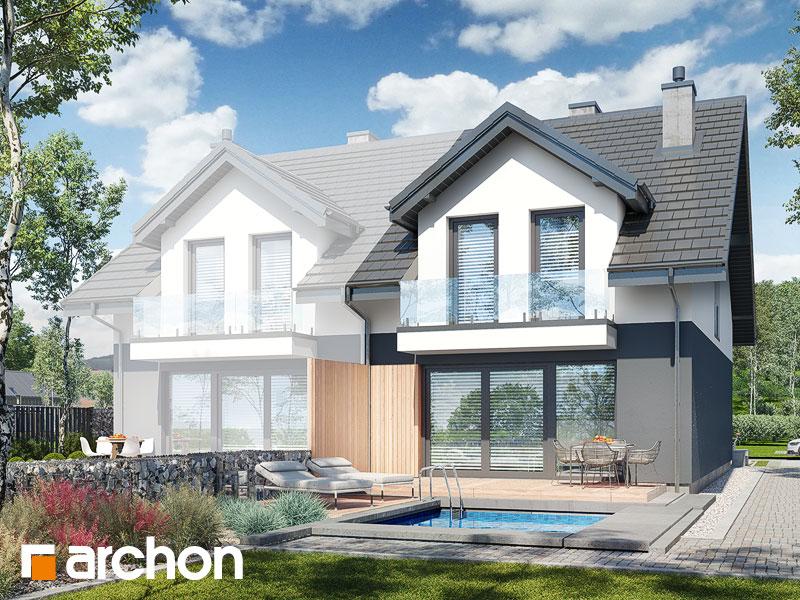 gotowy projekt Dom pod miłorzębem 21 (GB) widok 1