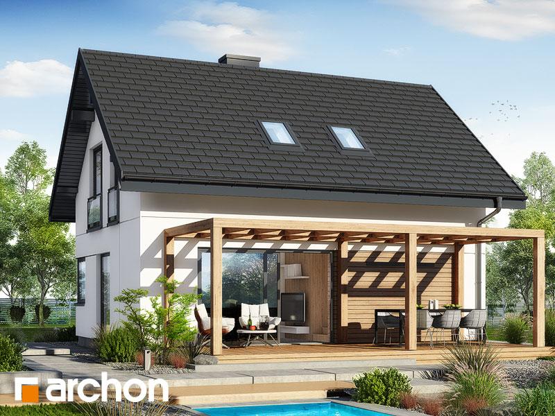 gotowy projekt Dom w bukszpanach (G) widok 2