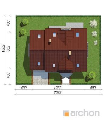 projekt Dom w poziomkach 4 sytuacja