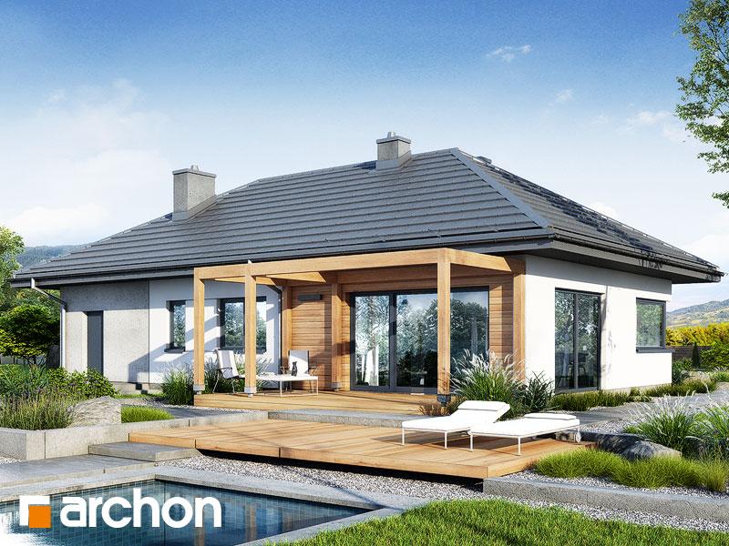 gotowy projekt Dom w mekintoszach 16 (G) widok 1