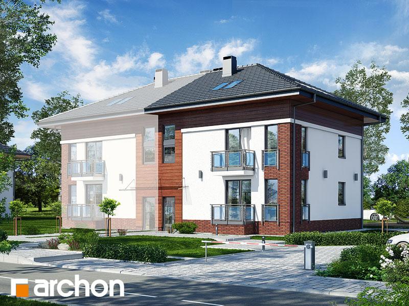 gotowy projekt Dom w sagowcach 2 widok 1