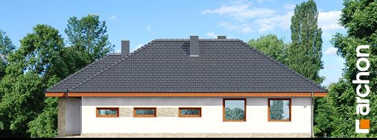Elewacja boczna projekt dom w cyprysikach ver 2  265