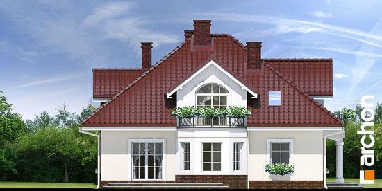 Elewacja boczna projekt dom w tymianku ver 2  266