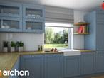 projekt Dom w tymianku Aranżacja kuchni 1 widok 3