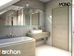 projekt Dom w tymianku Wizualizacja łazienki (wizualizacja 1 widok 4)