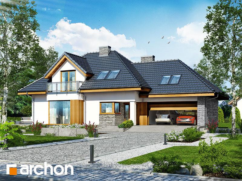 projekt Dom w rukoli 3 (NA) widok 1