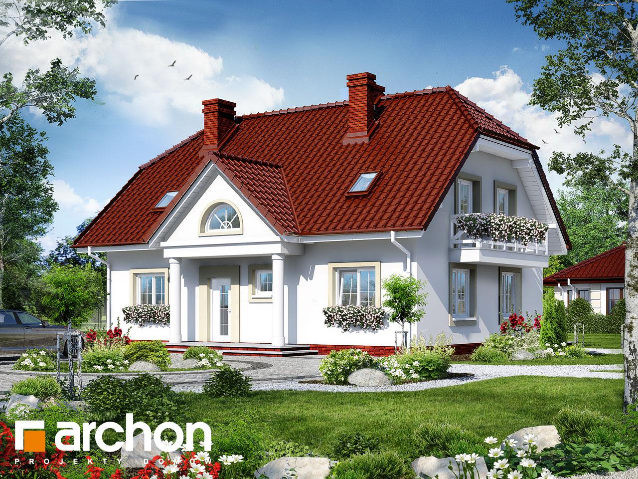 Projekt domu Dom w gladiolach 2 - ARCHON+