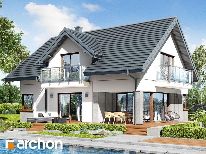 gotowy projekt Dom w kortlandach (G) widok 1