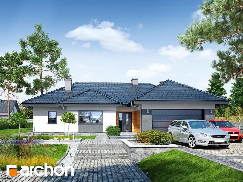 gotowy projekt Dom w nawłociach (G2) widok 1