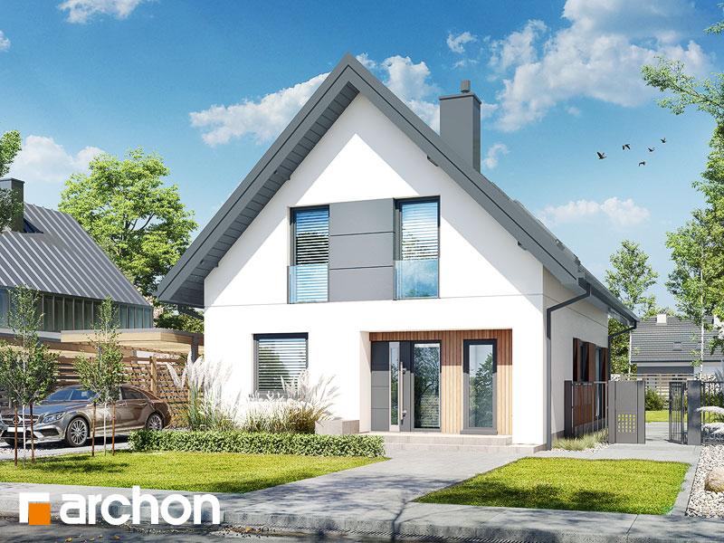 gotowy projekt Dom w strelicjach (A) widok 1