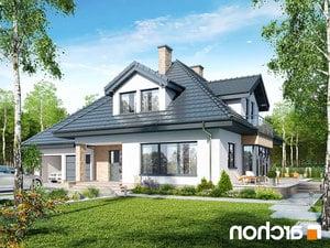 projekt Dom w czarnuszce (G2PA) lustrzane odbicie 1