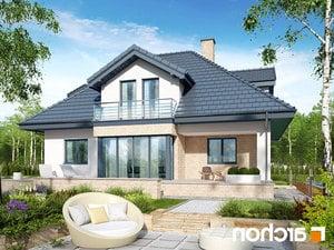 projekt Dom w czarnuszce (G2PA) lustrzane odbicie 2