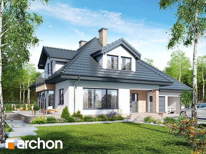 gotowy projekt Dom w czarnuszce (G2PA) widok 1