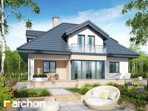 projekt Dom w czarnuszce (G2PA) widok 2