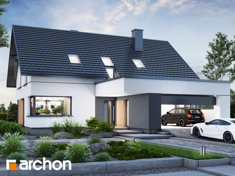 gotowy projekt Dom w szarotkach (G2E) widok 1