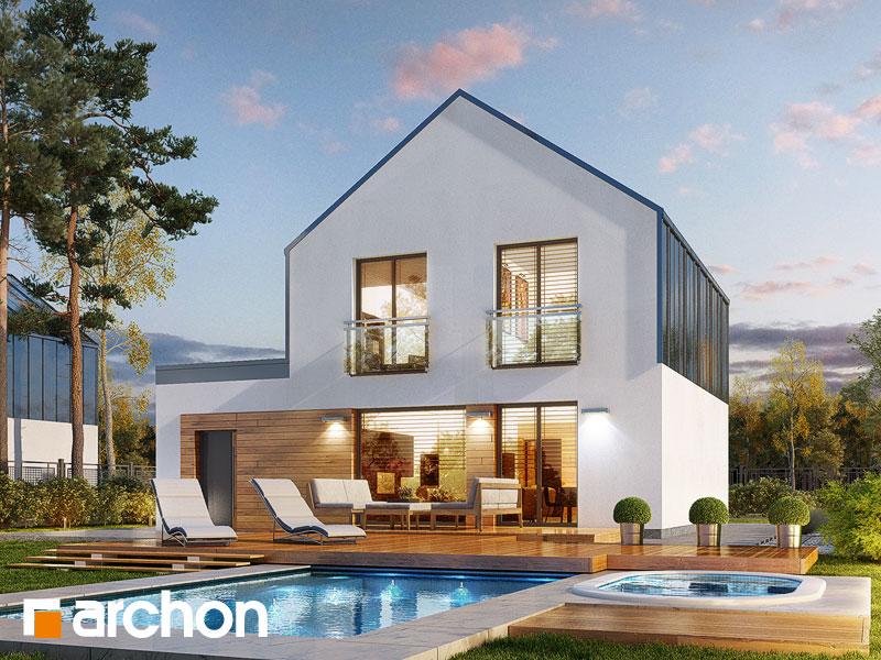 gotowy projekt Dom w arkadiach 3 (G) widok 1