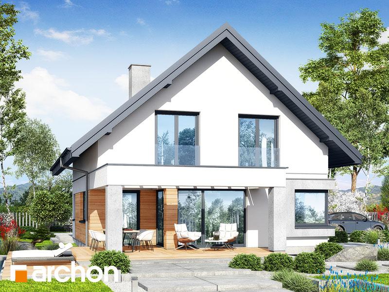 gotowy projekt Dom w zdrojówkach 7 (G2) widok 1
