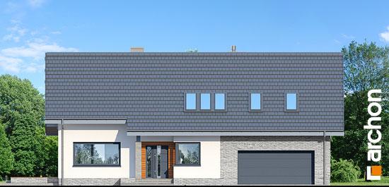 Elewacja frontowa projekt dom w bugenwillach g2p  264