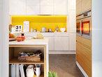 projekt Dom w bugenwillach (G2P) Wizualizacja kuchni 1 widok 1