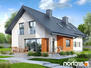 projekt Dom w bugenwillach (G2P) lustrzane odbicie 2