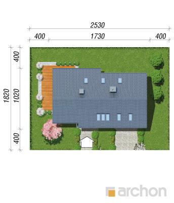 projekt Dom w bugenwillach (G2P) sytuacja