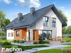 projekt Dom w bugenwillach (G2P) widok 2