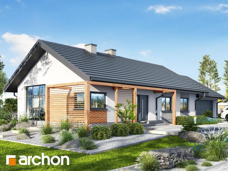 gotowy projekt Dom w mekintoszach (G2) widok 1
