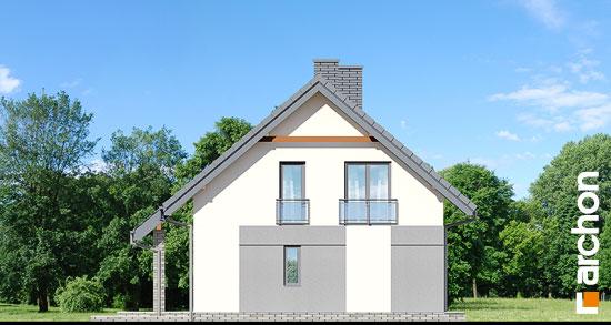 Elewacja boczna projekt dom w malinowkach  265