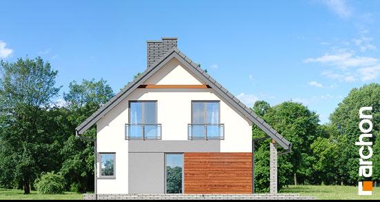 Elewacja boczna projekt dom w malinowkach  266