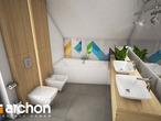 projekt Dom w malinówkach Wizualizacja łazienki (wizualizacja 3 widok 2)