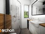 projekt Dom w malinówkach Wizualizacja łazienki (wizualizacja 4 widok 1)