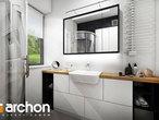 projekt Dom w malinówkach Wizualizacja łazienki (wizualizacja 4 widok 2)