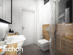 projekt Dom w malinówkach Wizualizacja łazienki (wizualizacja 4 widok 3)