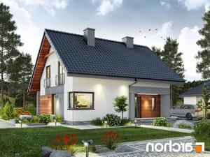 projekt Dom w malinówkach lustrzane odbicie 1