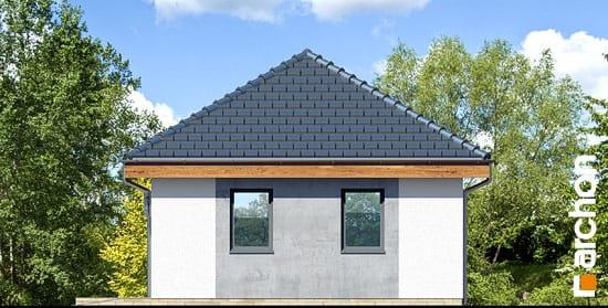 Elewacja boczna projekt garaz 2 stanowiskowy g25  265