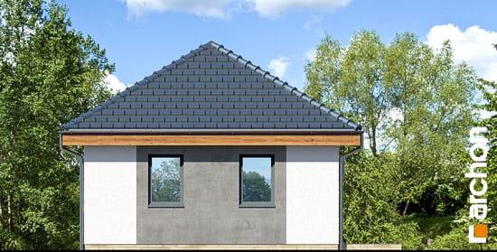 Elewacja boczna projekt garaz 2 stanowiskowy g25  266