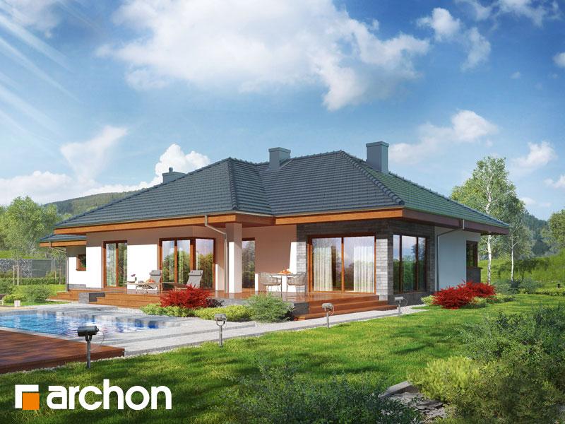 gotowy projekt Dom w alwach (G2T) widok 1