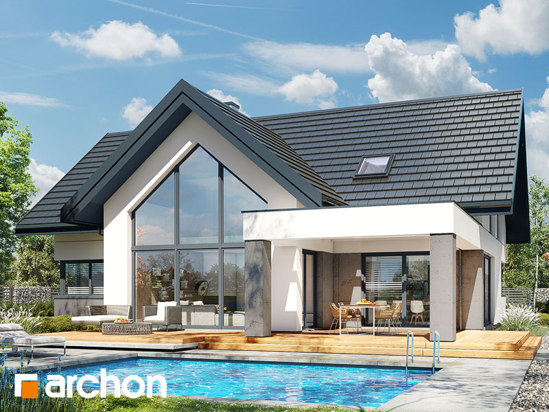 gotowy projekt Dom w felicjach 4 (G2) widok 1