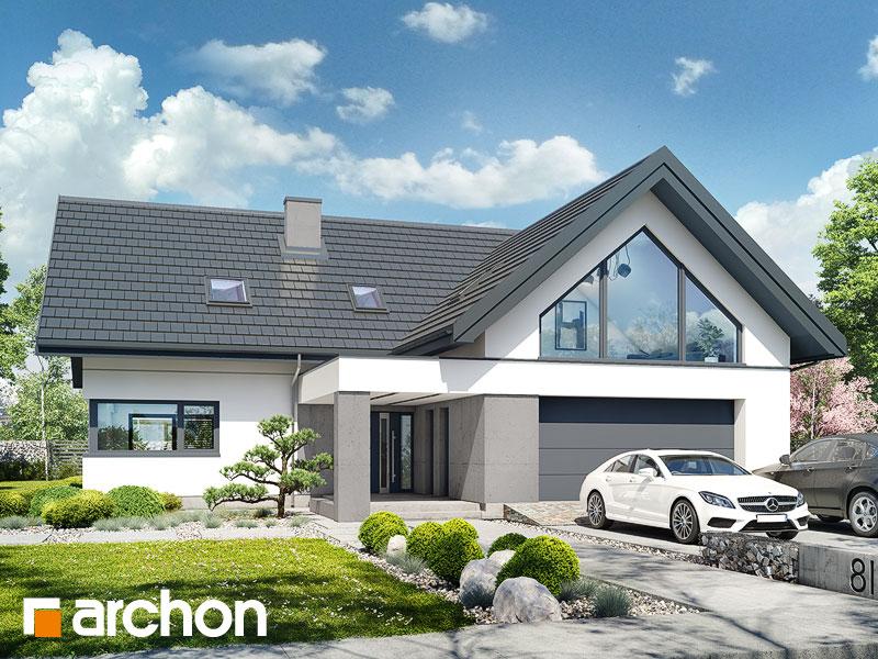 gotowy projekt Dom w felicjach 4 (G2) widok 2