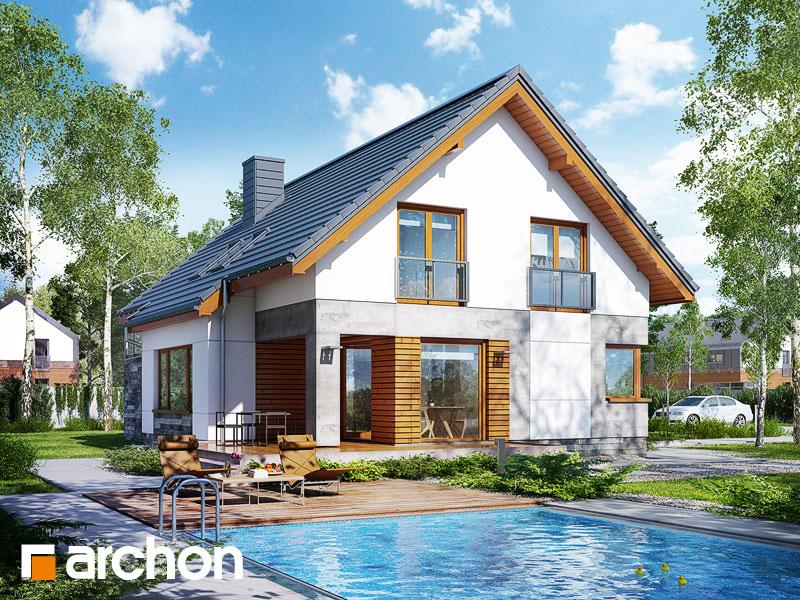 projekt Dom w janowcach (G2) widok 1