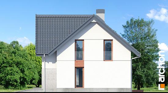 Elewacja boczna projekt dom w zurawkach 10  265