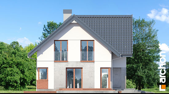 Elewacja boczna projekt dom w zurawkach 10  266