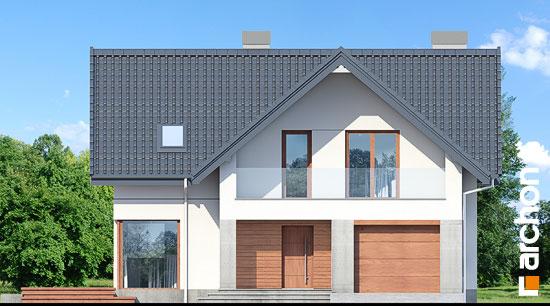 Elewacja frontowa projekt dom w zurawkach 10  264